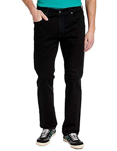 PIONEER 1144-9639-11 RON schwarz Stretch-Jeans: Weite: W34   Länge: L32