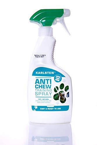 Karlsten Deterrante profesional de alta resistencia, antimasticación, para perros y cachorros, sin alcohol, disuasión profesional