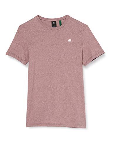 G-STAR RAW Base-s Round Neck Camiseta, Dk Fig Htr 336-3906, L para...