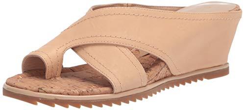Donald J Pliner Women's Wedge Sandal, Sand, 6.5