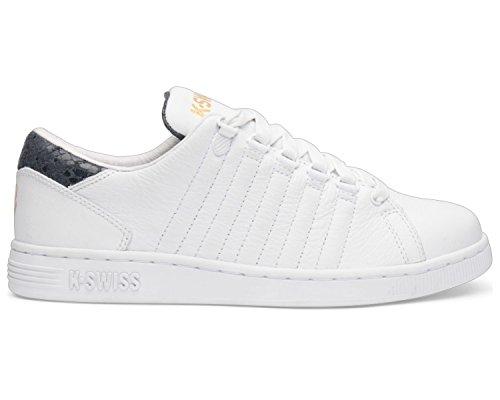 K-Swiss Lozan III TT Reptile Glam Damen Sneaker, Schuhe Farbe: Weiß (197); Größe: EUR 36 | US 5.5 | UK 3.5