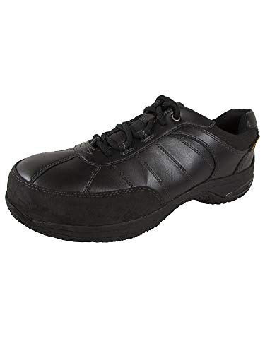 Dunham Mens Lexington Steel Toe Lace Up Shoes 4E 9.5 Black