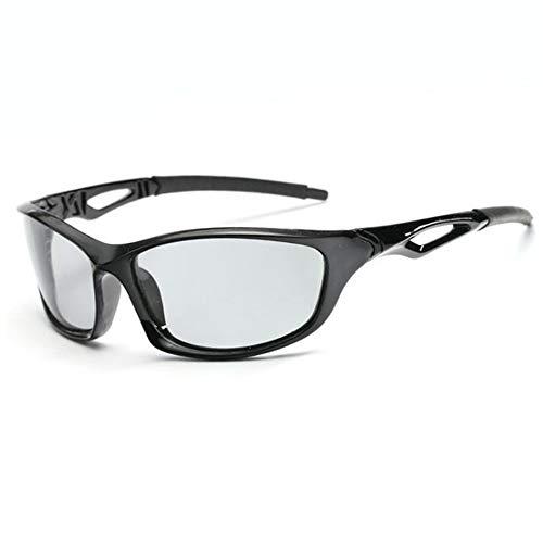 Xacxl Gafas de Sol cuadradas polarizadas Gafas de Ciclismo para Senderismo polarizadas...