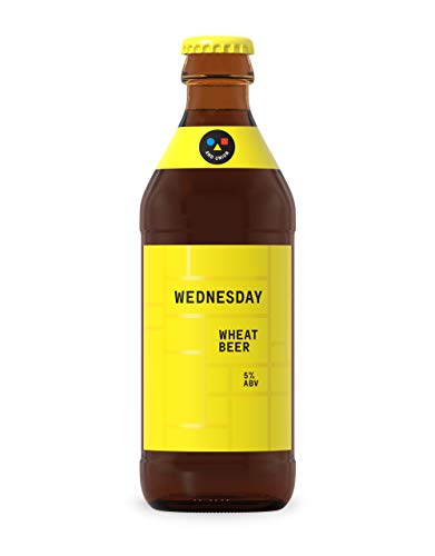 AND UNION Craft Beer, WEDNESDAY Weizenbier, 5% Weißbier (18 x 0.33 l)
