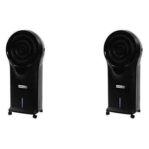 NewAir Luma Comfort Portable Modern Home Evaporative Swamp Air Cooler (2 Pack)