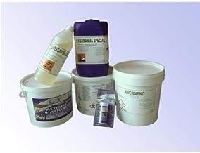 Kit de productos químicos para Mantenimiento piscinas de Pequeñas Dimensiones