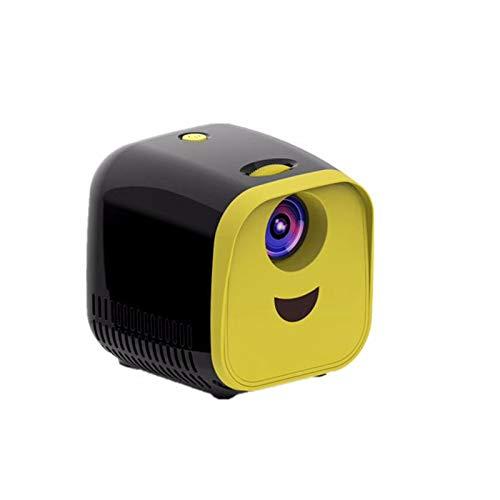 Beamer Projektor Elektrisch Mini-Taschen-LED-Projektor HD 1080P Heimkino USB HDMI SD LCD-Video Tragbarer grenzüberschreitender LED-Projektor für Kinderspielzeug und Geschenke