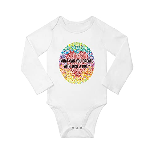 What Can You Create With Just A Dot Unisex Baby Long Sleeve Bodysuit