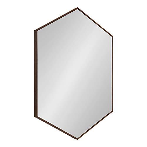 Walnut Glass Mirror - 8