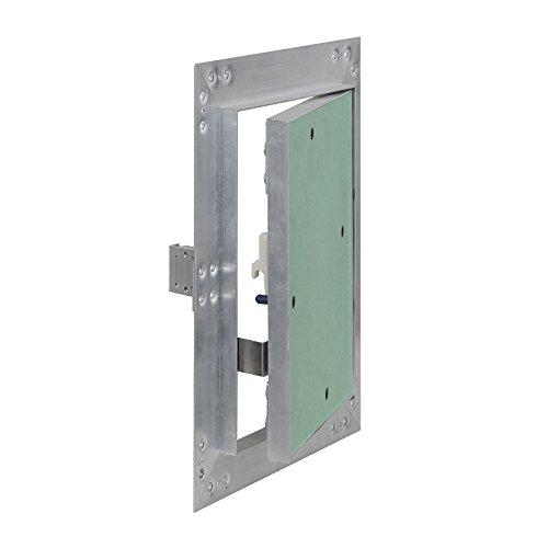 Puerta revisión Trampilla inspección marco aluminio 25x40cm Panel acceso Yeso 12,5 mm...