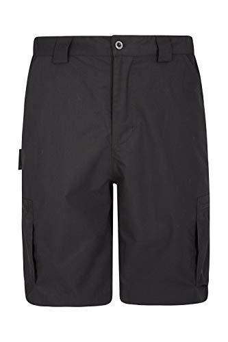 Mountain Warehouse Trek Mens Shorts – Lightweight Shorts, Durable Cargo Short Trousers, Comfortable Bottoms, 7 Pockets…