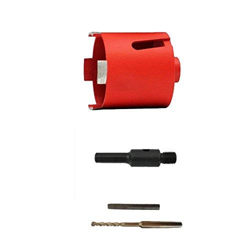 Diamant-Bohrkrone Dosenbohrer Kernbohrkrone Nass + Trocken 82 mm Ø / 65mm 6-Kant kurz Diamant-Dosensenker