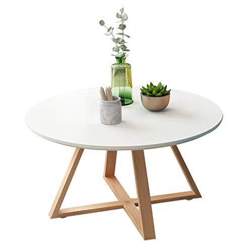 Tuinmeubelen en accessoires tafels ronde salontafel woonkamer eenvoudige hoek balkon van massief hout salontafel kleine theetafel, hoge belastbare