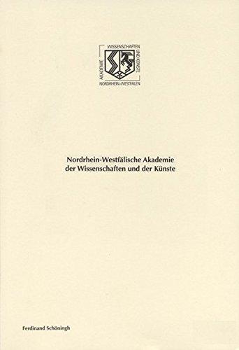 Glykolipide der Zelloberfläche und die Pathobiochemie der Zelle (Nordrhein-Westfälische Akademie der Wissenschaften und der Künste - Vorträge: Geisteswissenschaften)