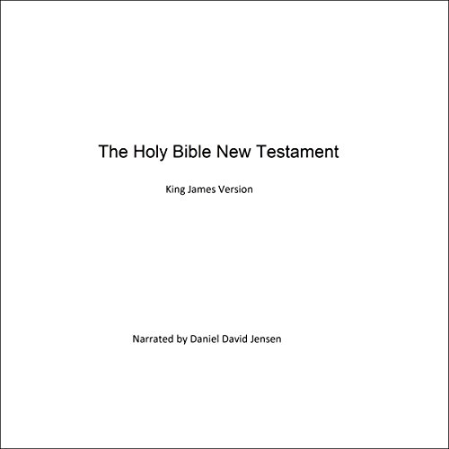 The Holy Bible New Testament audiobook cover art