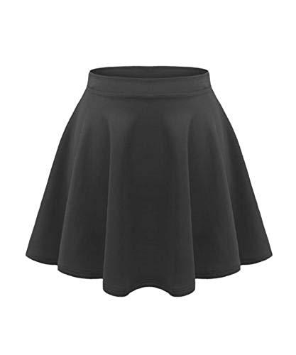 Générique Unbranded - Jupe - Fille Noir * Taille Unique - Noir - 11-12 Ans