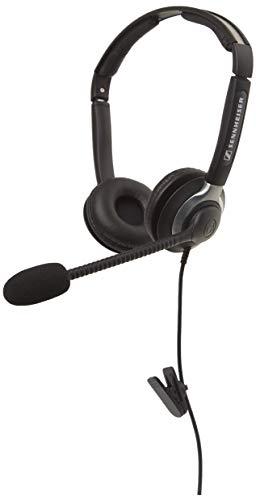 Sennheiser Binaural Headset with Xl Ear Cap (CC 550)