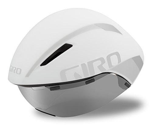 Giro Casco de contrarreloj aerohead Mips Triathlon Blanco/Plata 2017