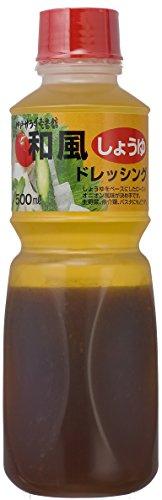 ケンコーマヨネーズ 神戸サラダ壱番館和風しょうゆドレッシング 500ml×4個