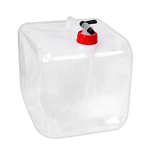 MiOYOOW Cubo de agua plegable para acampar, senderismo, contenedor de agua plegable al aire libre, bolsa de agua para acampar y senderismo