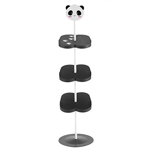 Yosoo, supporto per scarpe, porta scarpe da bambino, scarpiera per 4 paia, scarpiera mignon panda noir