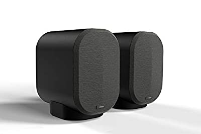 i-box Bookshelf Speakers, 40W Bluetooth Wireless Professional Studio Monitors with Built In Amplifier, Black from Philex Electronic Ltd