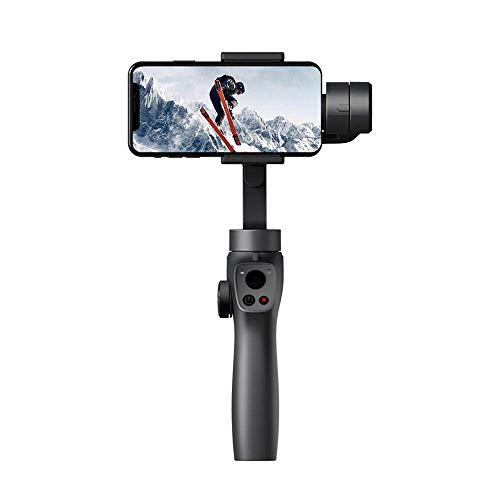 Funsnap portátil cardán Estabilizador for Smartphone X Focus Focus & Zoom MAX Sam Canto de acción de la cámara PTZ Smartphone Xiaomi JIAJIAFUDR