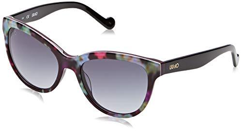 Liu Jo LJ629S 513 54 Gafas de sol, Flowers On Purple, Mujer