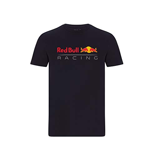 Red Bull Racing - Offizielle Formel 1 Merchandise 2021 Kollektion - Herren - Large Logo Tee - Kurze Ärmel - Navy - L