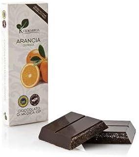 チョカッルーア モディカ チョコレート オレンジ (100g) [イタリア シチリア] | CIOKARRUA MODICA CHOCOLATE IGP | ギフト プレゼント カカオ50% ヴィーガン 板チョコ スイーツ ポリフェノール