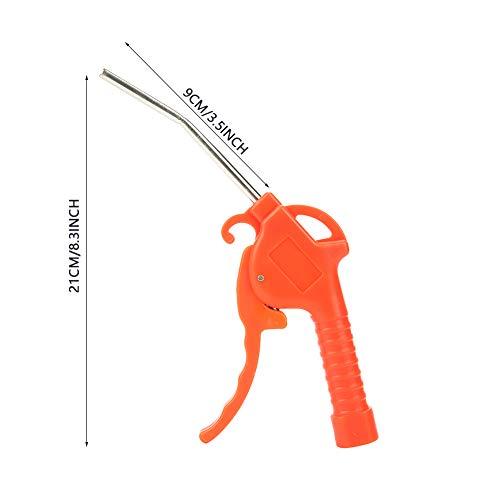 Pistola de aire comprimido con compresor de herramienta neumática para mejoras industriales