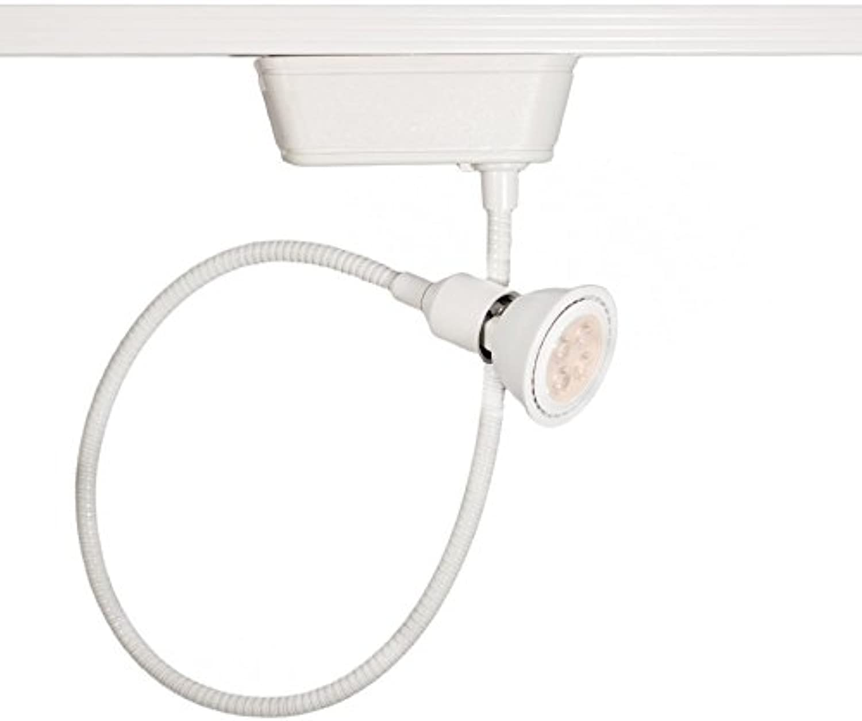 WAC Lighting HHT-204LED-WT Low Voltage - 120V Track Luminaire, H Track