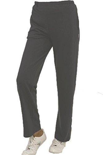 Trainingshose Jogginghose für Damen anthrazit melange von hajo Größe 23