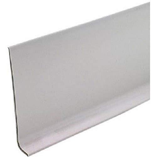 "MD Building Products Gray 75499 Vinyl Wall Base Bulk Roll, 4 Inch-by-120-Feet, Silver, 4"" x120"