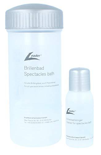 shoptic Brillenbad SET   Schüttelbad inkl. 50ml Spezialreiniger/spectacles bath with cleaner