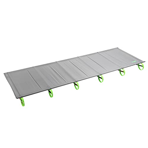 Felenny Cuna Plegable para Acampar Cama Plegable Portátil Al Aire Libre Soporte de Aleación de Aluminio Cama Plegable para Dormir para La Oficina