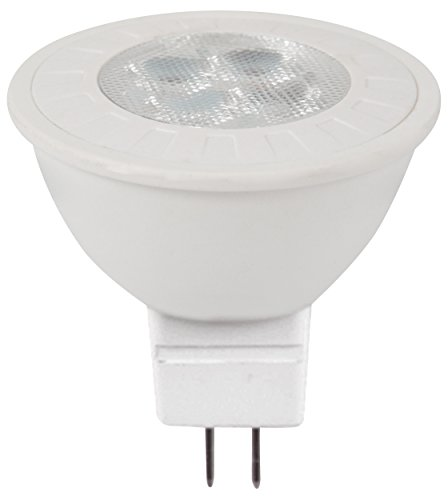 Müller Licht LED Reflektor MR16 5W (33W) 12V GU5.3 320lm 38° 2700K ML400061, Weiß