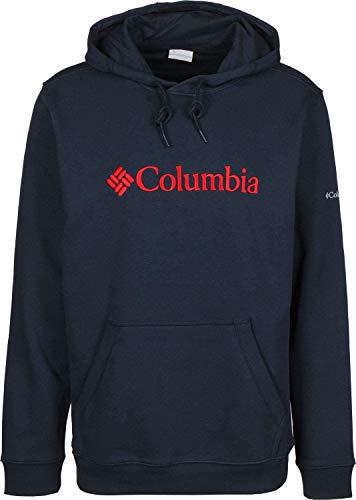 Columbia Herren CSC Basic Logo II Hoodie Kapuzenpullover, Blau (Collegiate Navy), M