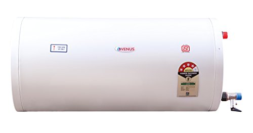 Venus Slim 15HS 15-Litre Storage Water Heater (White,BEE Star Rating - 3...