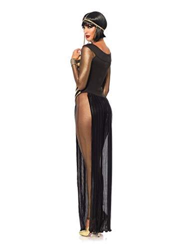 Mdjywl Disfraz sexy de la reina Adllt Cleopatra Wmn 's Sexy Halloween Csplay Prty Disfraz de fiesta (talla XL, fuente: diosa griega)