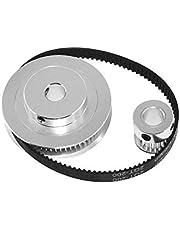 Gear 20T5MM tandriemschijf GT2 60teeth 20teeth Reductie 3: 1/1: 3 3D printer accessoires spoorbreedte 6mm Bore 5mm Synchrone wheel Tool parts (Hole Diameter : 20T5 60T8 200mm)