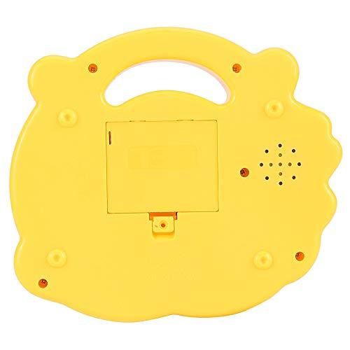 con piano de juguete de diseño suave, juguete musical no tóxico y seguro para niños(CP5031A yellow)