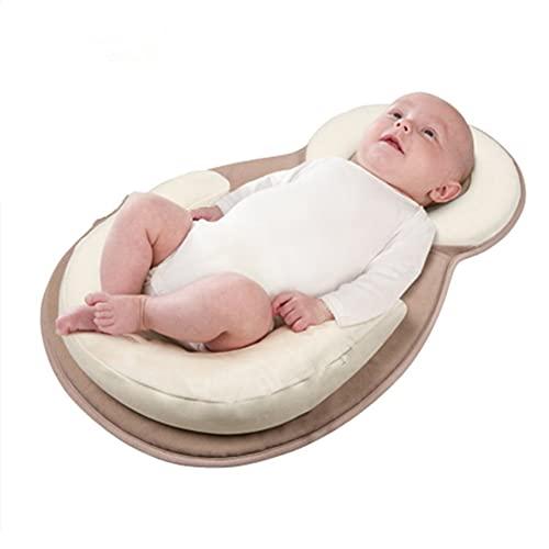 Nido Bebé Recién Nacido,Camas para niños Asientos para niños Colchón portátil para niños Nido para dormir Cama para...