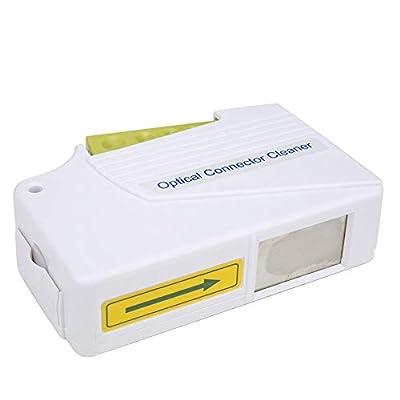 Optical Connector Cleaner?Fiber Optic Connector Cleaning Tool?End Face Cleaner 500+ Optical Connector Cleaner?Fiber Optic Cassette Cleaner