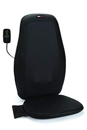 ObusForme Deep Kneading Shiatsu Massage Cushion with Heat for Back and Neck
