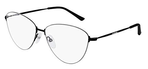 Balenciaga BB0034O - Occhiali da vista 001, 58 mm, colore: Nero