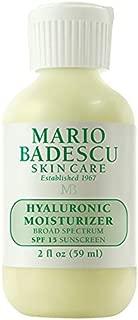 Mario Badescu Hyaluronic Moisturizer SPF 15, 2  Fl Oz