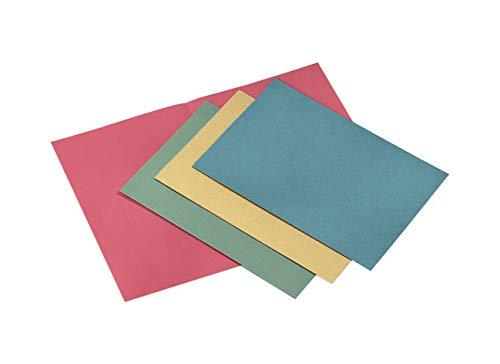 Cartellina Semplice in cartoncino Pannosa 145 Gr - 25x34 cm Confezione 100 pezzi Azzurro
