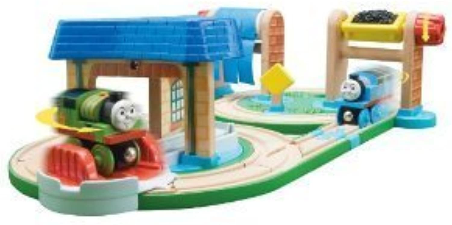 Thomas And Friends Wooden Railway - Early Engineers Busy Day on Sodor Set by Learning Curve