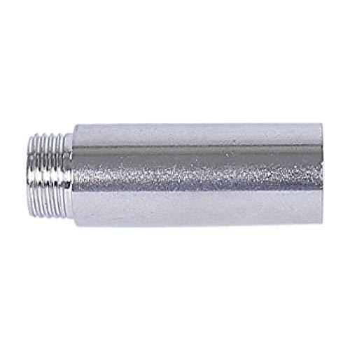 Soytich Alargador de grifo de acero inoxidable, 1/2' 3, 4, 5, 6, 8 cm (extensión de grifo), longitud: 6 cm